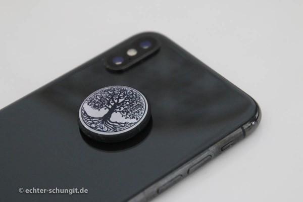 Schungit Platte fürs Smartphone um Strahlung abhalten zu können