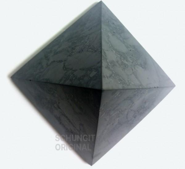 SCHUNGIT PYRAMIDE poliert 5 cm - bis 25 m²