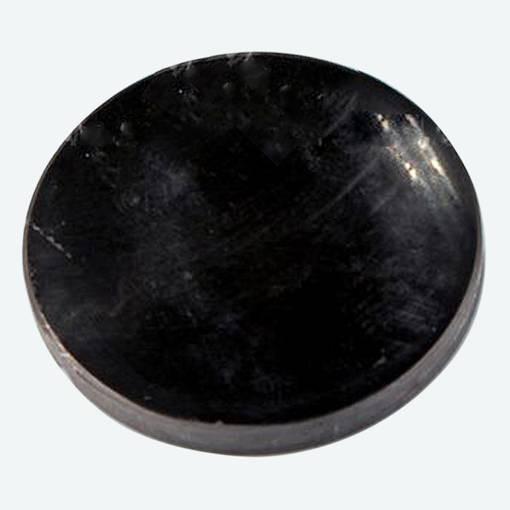 SCHUNGIT PLATTE rund 5 cm