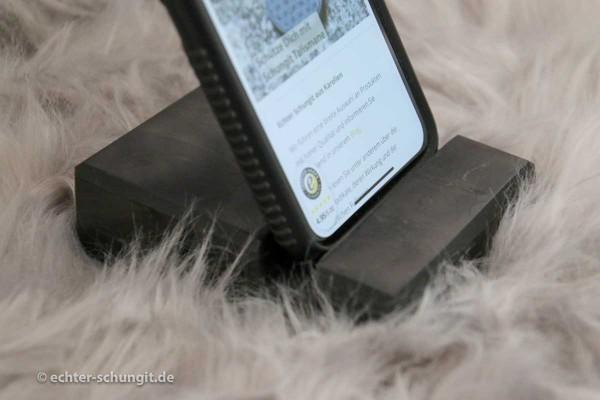 Smartphone Handy Halter aus Schungit