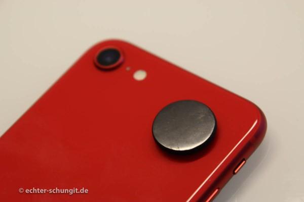 Schungit Plättchen Smartphone Elektrosmog und Strahlung